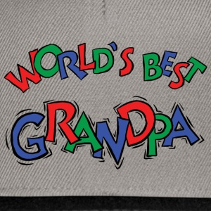 World's Best Grandpa - Snapback Cap