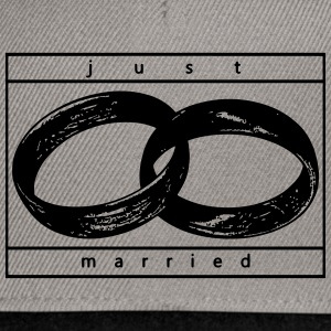 Just Married - Casquette snapback