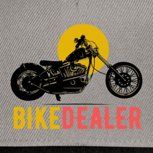 Bike Dealer · LogoArt - Snapback Cap