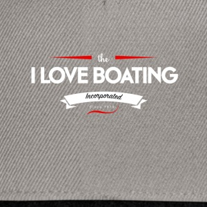 boating_logo_4 - Snapback Cap