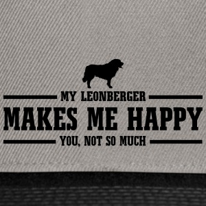 LEONBERGER makes me happy - Snapback Cap