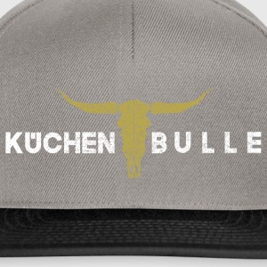 Küchenbulle weiss gold - Snapback Cap