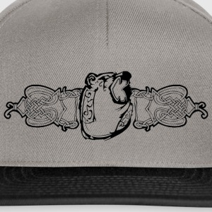 Bear in Viking optic - black - Snapback Cap