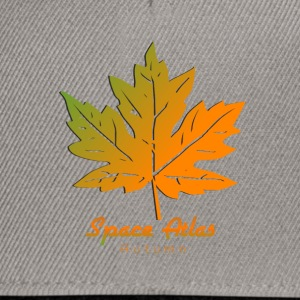 Space Atlas Long Sleeve T-Shirt Autumn Leaves - Snapback Cap