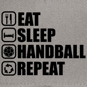 Eat sleep handball repeat - Snapback Cap