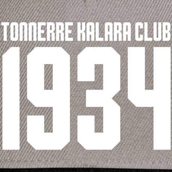 TKC 1934 sérigraphié blanc