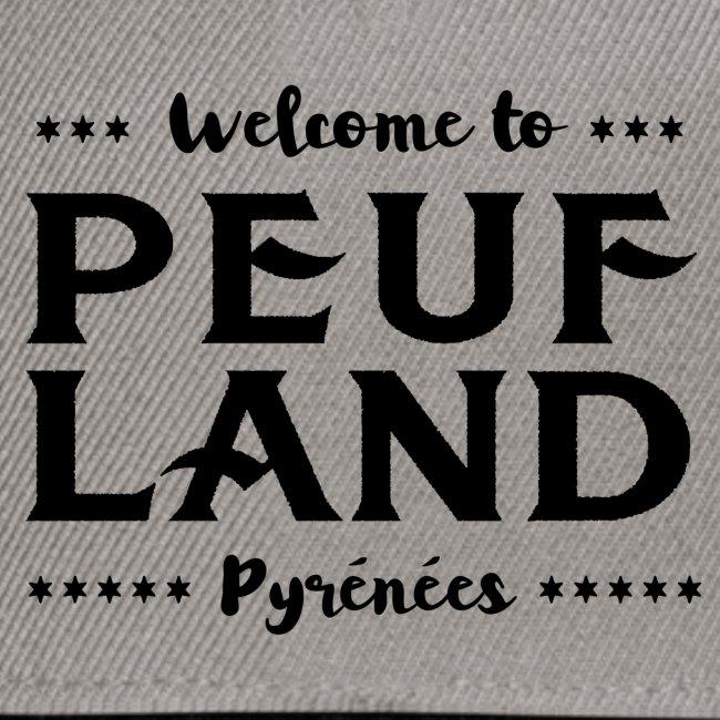 Peuf Land Pyrénées - Black