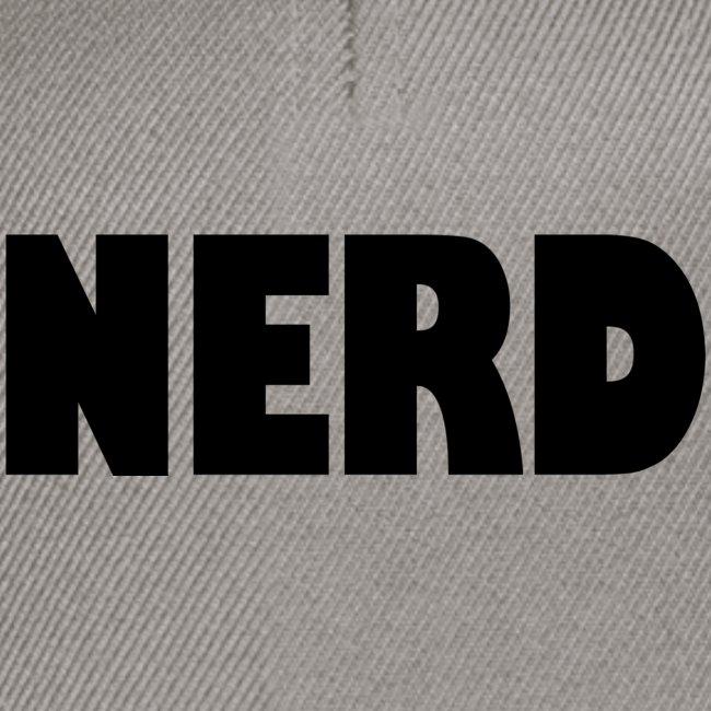 NERD Text Logo Black