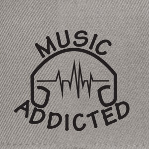 MUSIC_ADDICTED-2 - Casquette snapback
