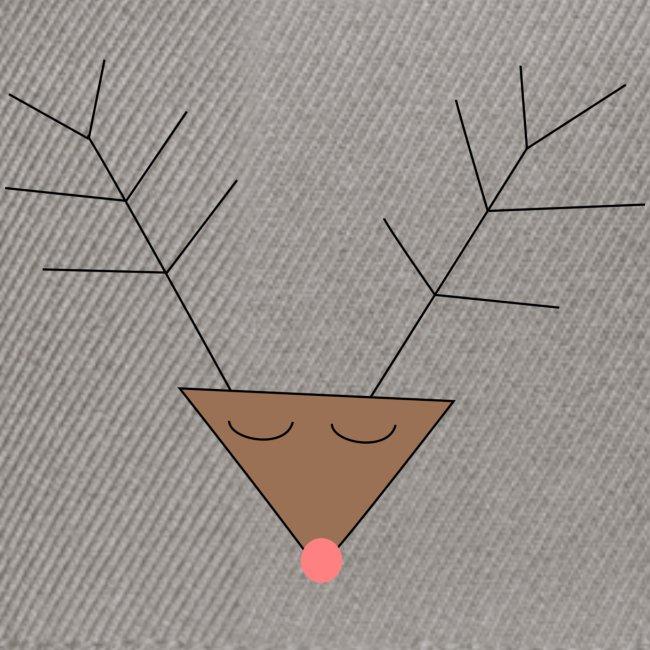 Pink nose reindeer