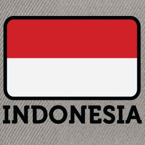 National Flag Of Indonesia - Snapback Cap