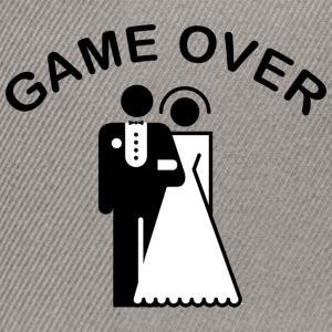 Game Over Just Married - Snapback-caps