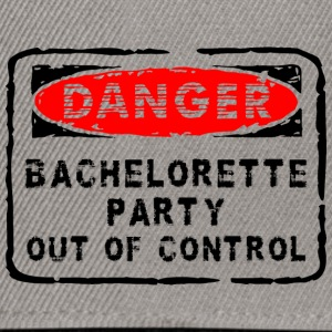 Bachelorette Party Out Of Control - Snapback Cap
