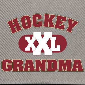 Hockey Grandma Grandmother - Snapback Cap