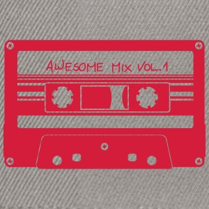 "Cassette ""Mix Awesome"" - Casquette snapback"