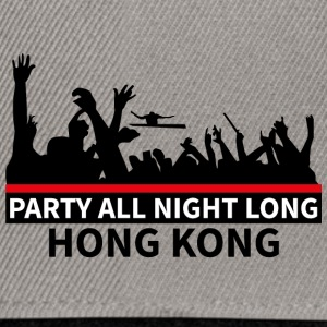 HONG KONG - Party All Night Long - Snapback Cap