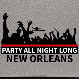 NEW ORLEANS - Party All Night Long - Snapback Cap