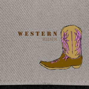 western rider colour - Snapback Cap