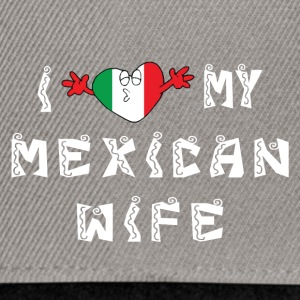 I Love My Wife mexicaine - Casquette snapback