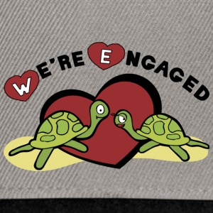 We're Engaged - Snapback Cap