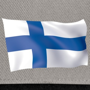 flag of Finland - Snapback Cap