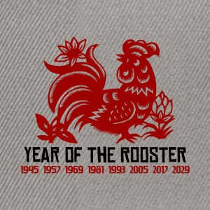 Years of The Rooster - Snapback Cap