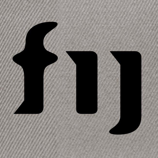 FIJ logo (svart)