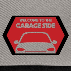 Mechanic: Welcome To The Garage Side - Snapback Cap