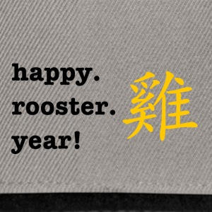 happy rooster year - Snapback Cap