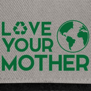 Earth Day / Tag der Erde: Love Your Mother - Snapback Cap
