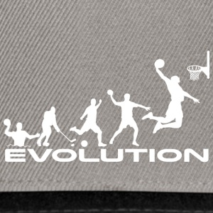 Basketball evolution - Snapback Cap