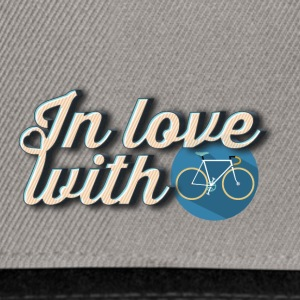 In love with cycling - Snapback Cap