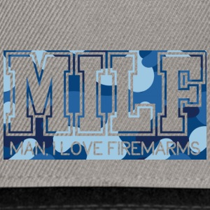Military / Soldiers: MILF - Man, I Love Firearms - Snapback Cap