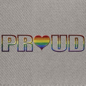 proud to be gay - Snapback Cap