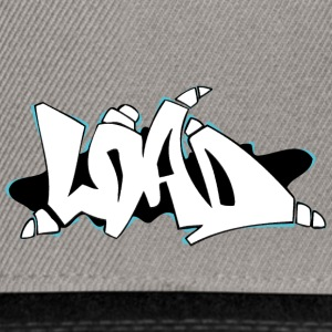 laden graffiti wit zwart - Snapback cap