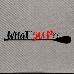 What´SUP Stand Up Paddle Enthusiast? - Snapback Cap