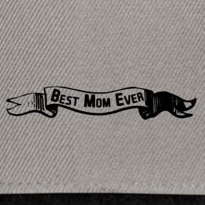 best mom banner - Snapback Cap