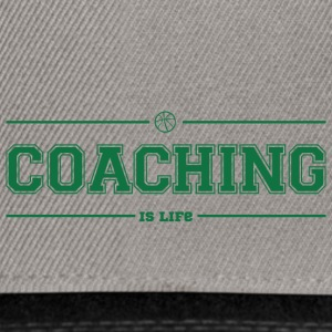 Coach / Trainer: Coaching Is Life - Snapback Cap