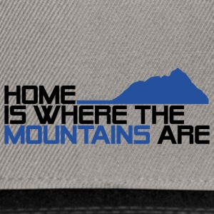 Home is where the mountais are - Snapback Cap