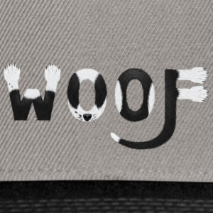 Chien Chien T-shirt - woof woof - Casquette snapback