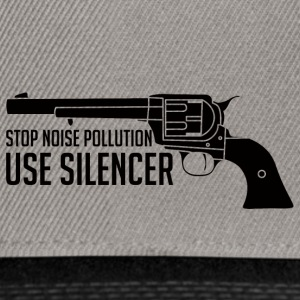 Military / Soldiers: Stop Noise Pollution, Use - Snapback Cap