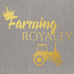 Farmer / Landwirt / Bauer: Farming Royalty - Snapback Cap