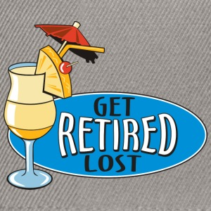 Retired Get Lost! - Snapback Cap