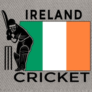 Irland Cricket Player Flag - Snapback Cap