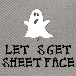 Halloween: Let's Get Sheetface - Snapback Cap