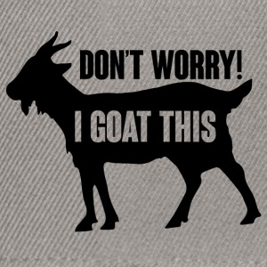 Farmer / Farmer / Farmer: Do not Worry! ik Goat - Snapback cap