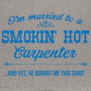 Zimmermann: I'm Married To A Smokin' Hot Carpenter - Snapback Cap