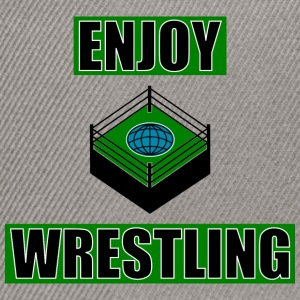 ENJOY_WRESTLING_GREEN_DesASD - Snapbackkeps