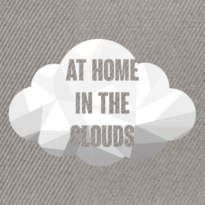 Hipster: At Home in the Clouds - Snapback Cap