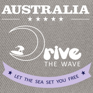 Australien Antrieb The Wave 02 - Snapback Cap